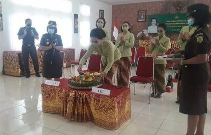 Kegiatan Upacara Peringatan Hari Ulang Tahun Ikatan Adhyaksa Darmakarini ke XXI Tahun 2021