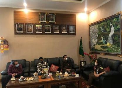 Kunjungan dan Audensi dari Komisioner KPU Kabupaten Gianyar