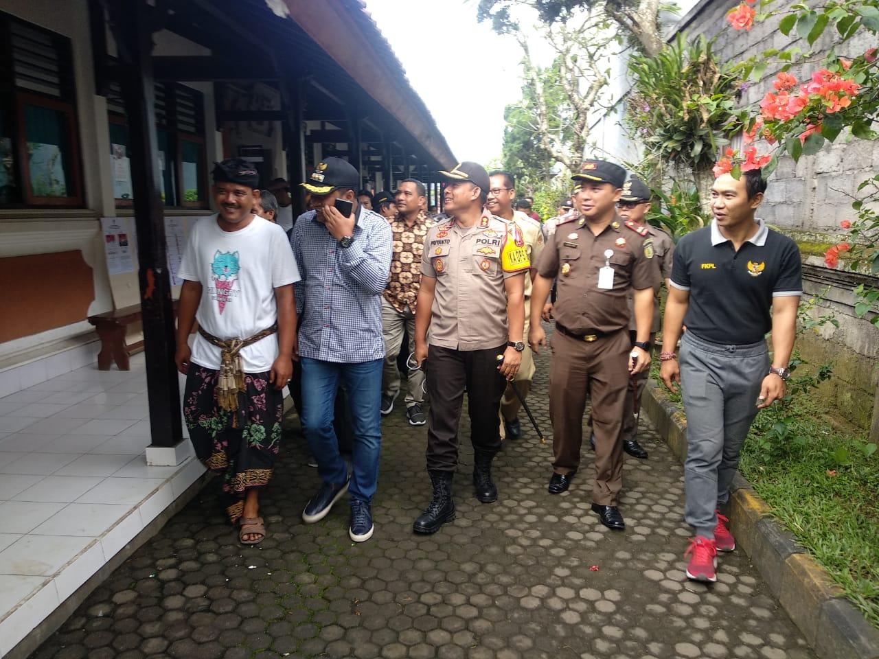 MONITORING  KESIAPAN TPS PEMILU 2019 DI WILAYAH KABUPATEN GIANYAR